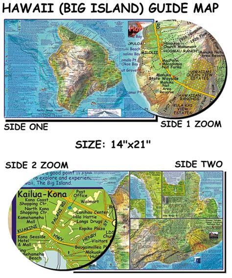 franko s hawai i big island guide map