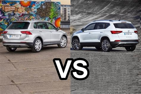 seat ateca vs tiguan 2016 vw tiguan vs 2016 seat ateca design youtube