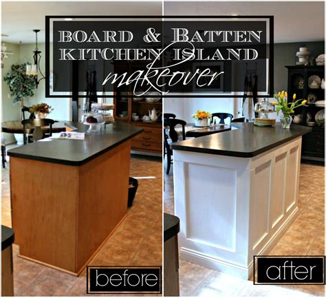 kitchen island makeover ideas 21 rosemary board batten kitchen island makeover