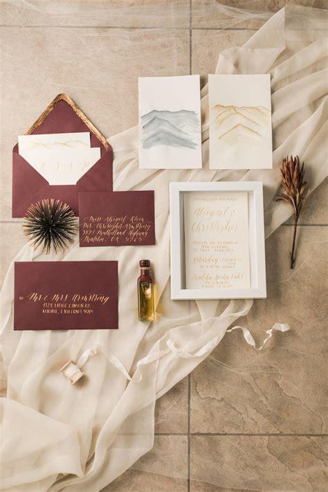 Earth Tone Wedding Invitations