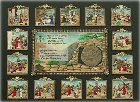 Salib Dinding Kecil Skp L via dolorosa clay 2d part 5 end