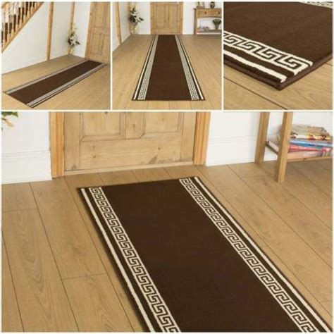 Mats For Hallways by Key Brown Hallway Carpet Runner Rug Mat For