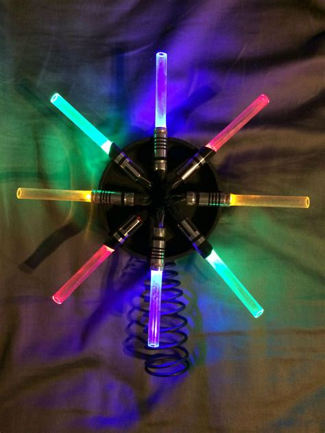 star wars lightsaber tree topper star wars lightsaber