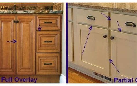 Partial Overlay Cabinets shopping for cabinets here are some terms to be farmiliar