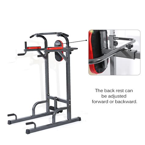 tomshoo adjustable fitness equipment home sturdy steel