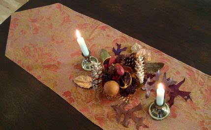 how to make a table runner for the holidays