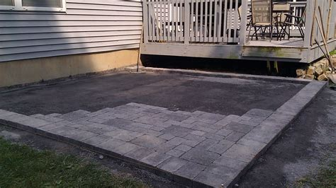 Laying Patio Bricks by Brick Patio Parkview Landscaping Home Improvement