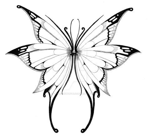 butterfly tattoo to draw butterfly wings 2 by crazyeyedbuffalo on deviantart