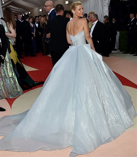 claire danes voice over watch claire danes glowing met gala dress see her
