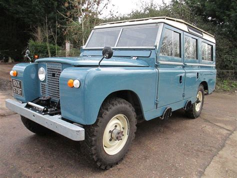 land rover series ii used 1968 land rover series ii 109 2 6 station wagon for