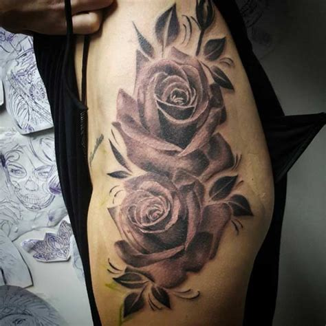 r i p tattoos with roses 1000 ideas about hip tattoos on hip