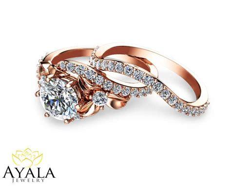 Wedding Bands Brands Bridal Set 14k Gold Ring Designer Engagement