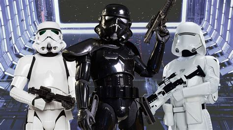 wars stormtrooper every canon stormtrooper in wars history ign