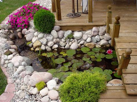 Backyard Accents by Pretty Look Of Backyard Which Is Decorated With Beautiful