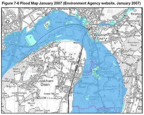 river thames flood plain map 7 flooding