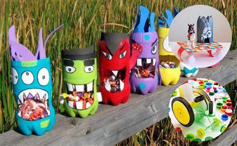 proyecto de fomix el arte en las manos con fomix 6 manualidades con botellas de pl 225 stico 161 divertidas