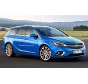 Opel Astra K Sports Tourer  Car Wallpaper