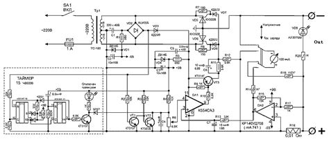 car battery charger diagram schematic charger for car battery circuit diagram world