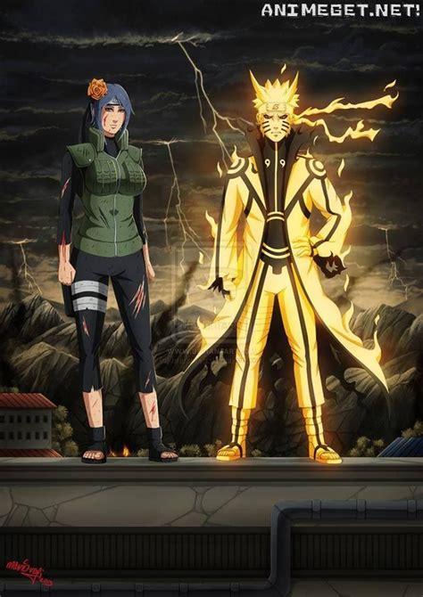 Kaos Anime The Last Stand 1 konan everything shippuden
