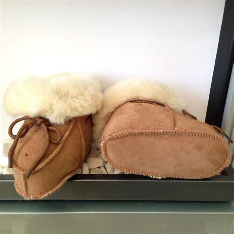 sheepskin slippers toddler chestnut baby toddler merino sheepskin slippers warm