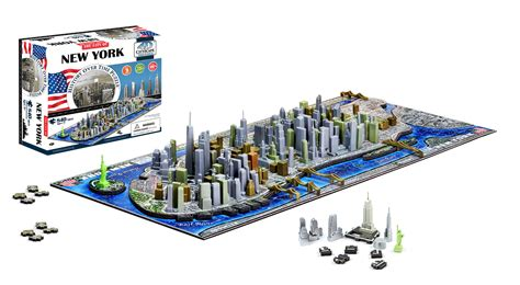 4d Puzzle 4d new york city skyline time puzzle