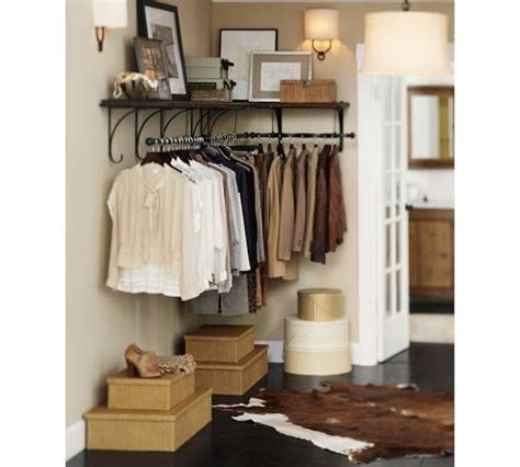 new york shelf clothes rack pottery barn in place of
