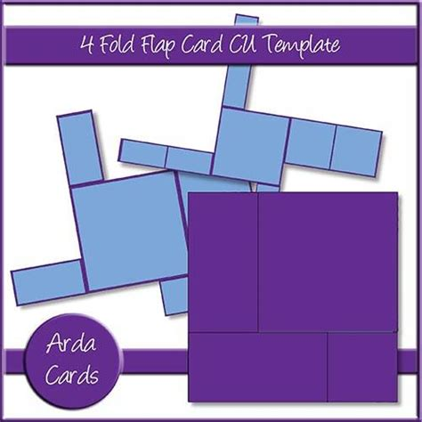 fold up card template printable cards papercraft downloads the printable