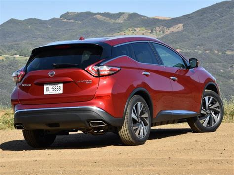 Ratings And Review 2016 Nissan Murano Platinum Ny Daily