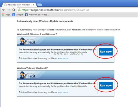 windows update resetter fix windows update service or bits service is missing