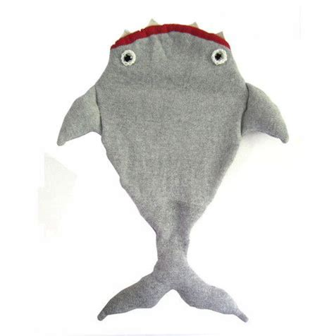 baby shark x2 shark sleeping bag by the miniature knit shop luna