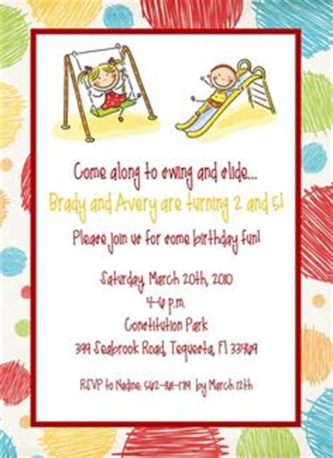 1000 images about park playground birthday ideas on