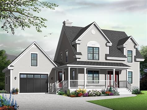 country home plans small two story country house plan