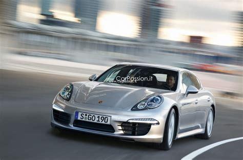 Porsche Panamera Facelift by 2013 Porsche Panamera Facelift Rendering Autoevolution