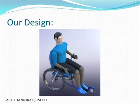 wheelchair for physically challenged a redesigned wheelchair for the physically challenged