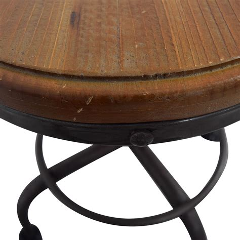 folding wood accent table from dot bo my wishlist 84 off dot and bo dot bo distressed adjustable wood