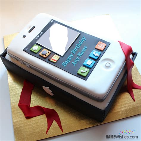 names themes for mobile phones iphone shaped birthday cake with name