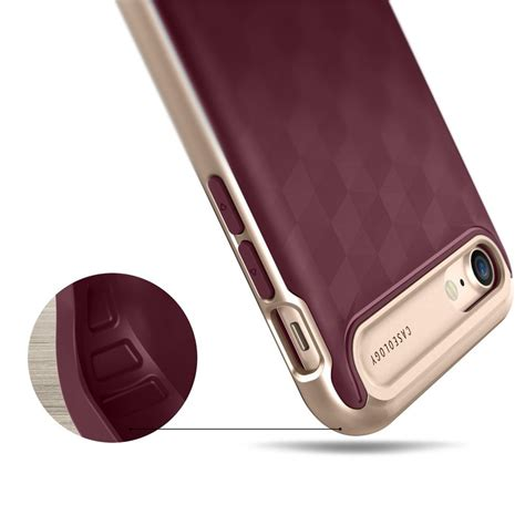 Caseology Iphone 7 Plus Parallax Series Burgundy Original jual beli caseology iphone 7 parallax series burgundy