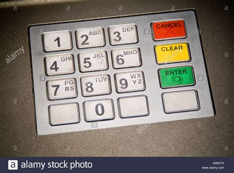 Banc Pin by Point Cashpoint Keyboard Buttons Pin Number Id