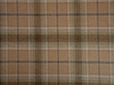 Tartan Fabrics For Upholstery by 100 Wool Tartan Plaid Oatmeal Fabric Curtain