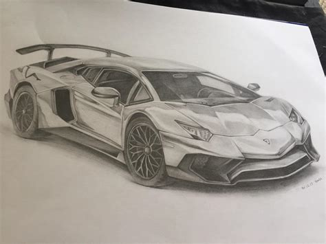 lamborghini sketch pencil drawing of a lamborghini aventador oc sketches