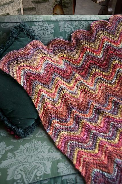 feather yarn knitting patterns loving the feather and fan lace blanket from the