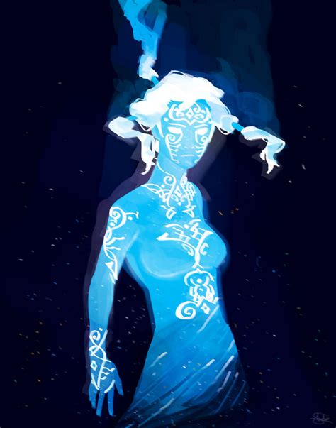 korra and raava the cosmic state by finalmix13 on deviantart