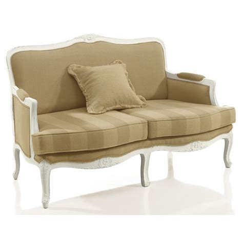 cream 2 seater sofa cream upholstered classic 2 seater sofa 9144d from