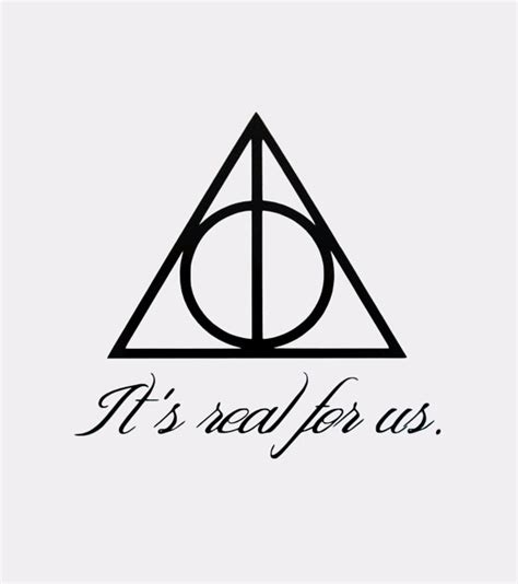 doodle name doni deathly hallows symbol it s real for us quote