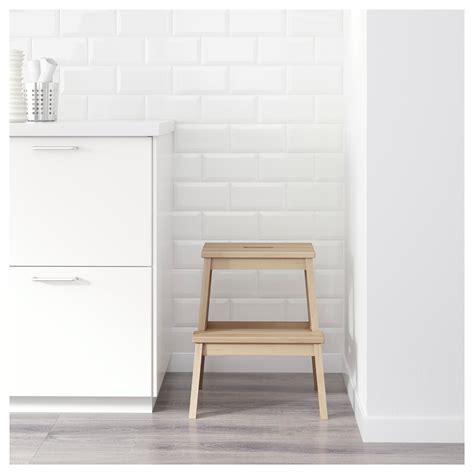 ikea step stool bekv 196 m step stool birch 50 cm ikea