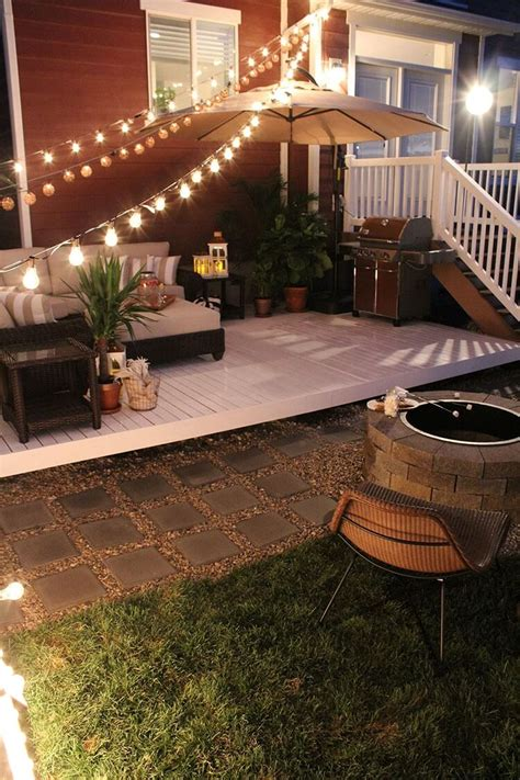 backyard lights ideas 33 best outdoor lighting ideas and designs for 2017
