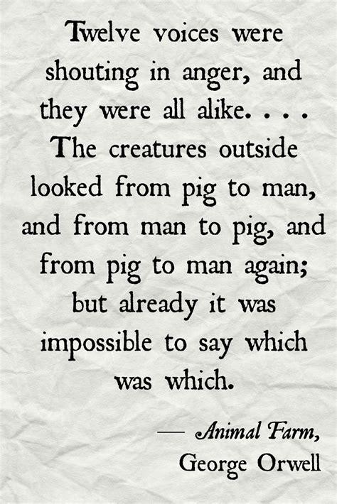 animal farm quotes quotes about animal farm dictatorship quotesgram