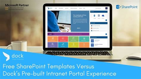 Free Sharepoint Templates Vs Dock S Pre Built Intranet Youtube Free Sharepoint Site Templates