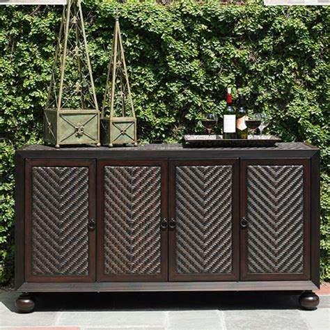 Kitchen Buffet Hutch Furniture by Tommy Bahama Black Sands Buffet Patio Furniture
