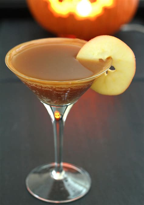 caramel martini caramel apple cider cocktail creative culinary a